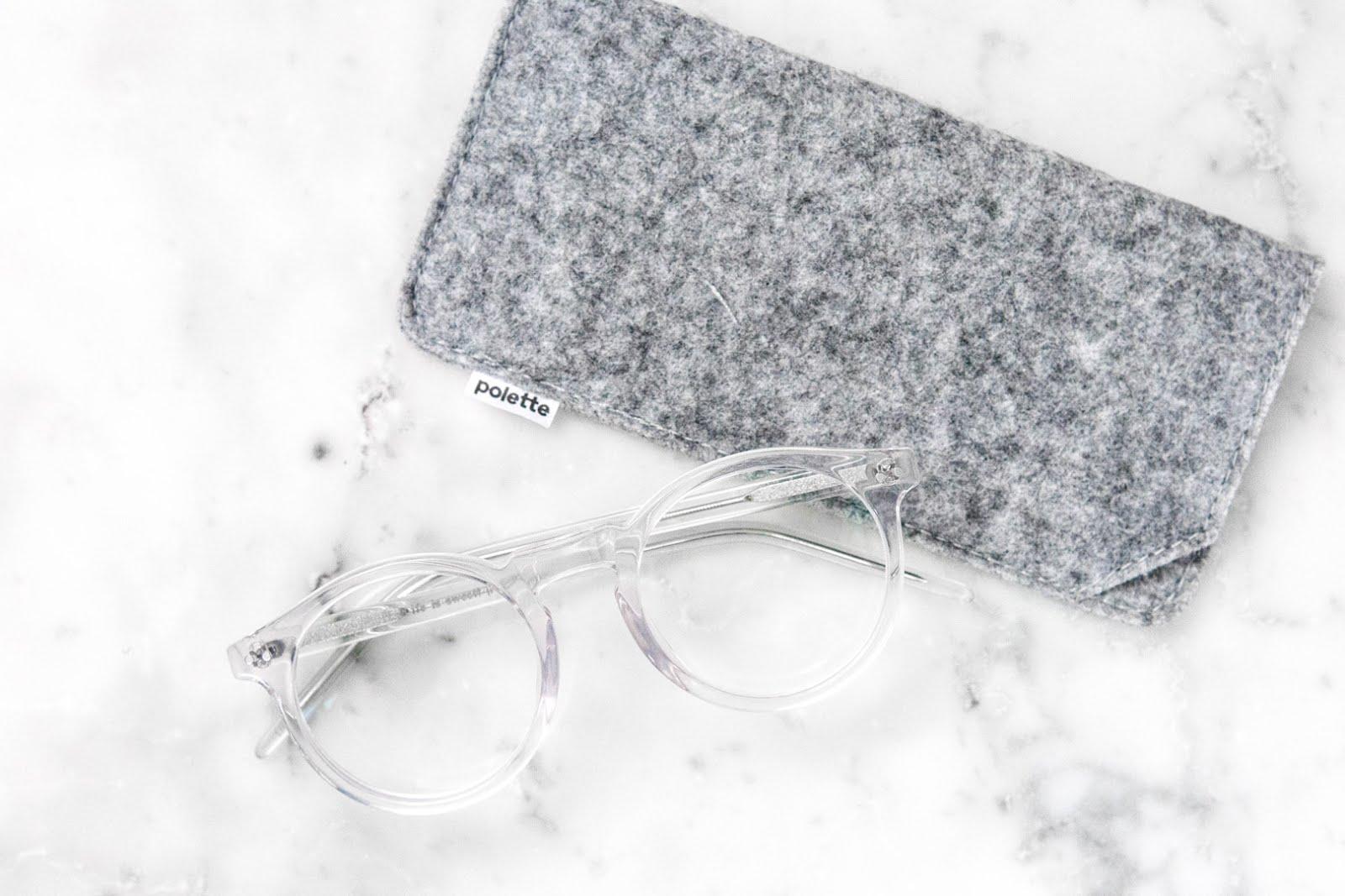 Polette, delice trans, transparent glasses, doorzichtig, bril, goedkoop, minimal,