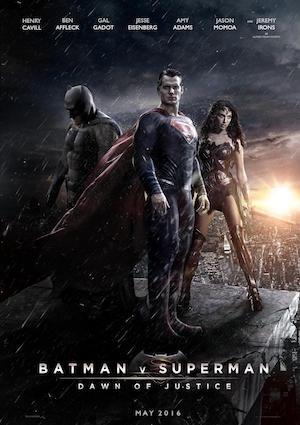 Poster Batman v Superman: Dawn of Justice 2016