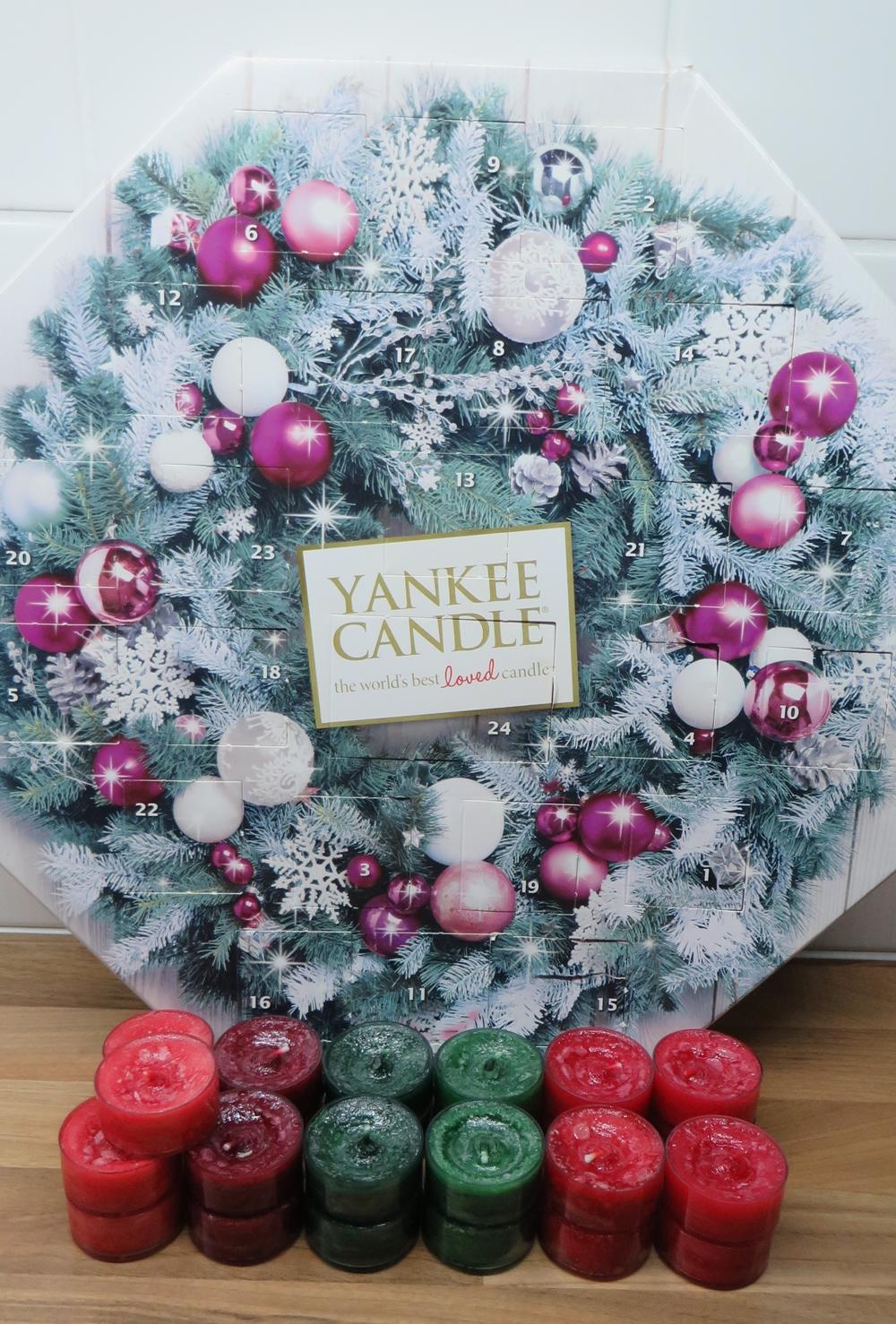 kynttilä joulukalenteri 2018 Blinger shimmer: Yankee Candle  joulukalenterin yhteenveto kynttilä joulukalenteri 2018