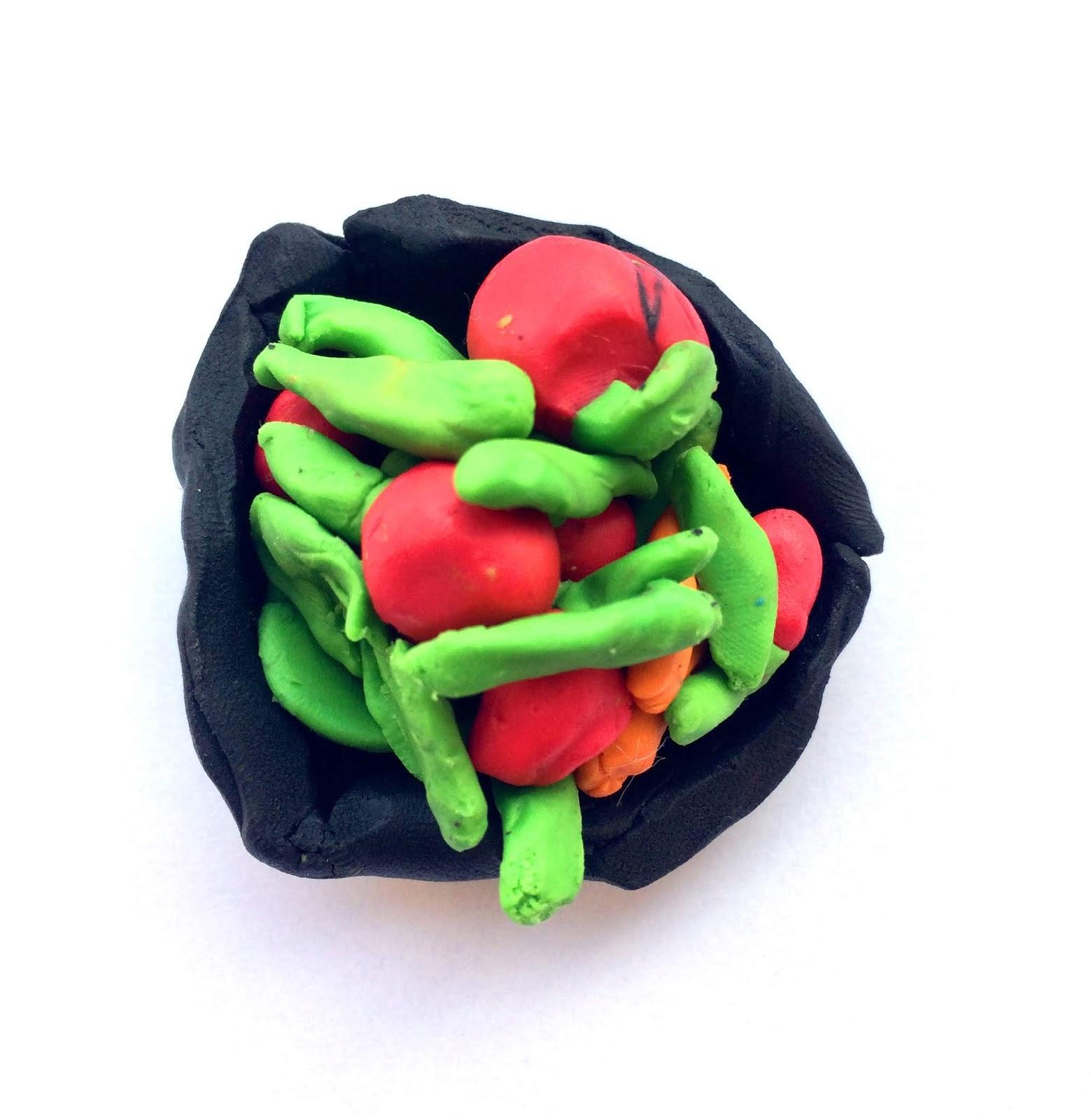 Supa de legume, modelaj