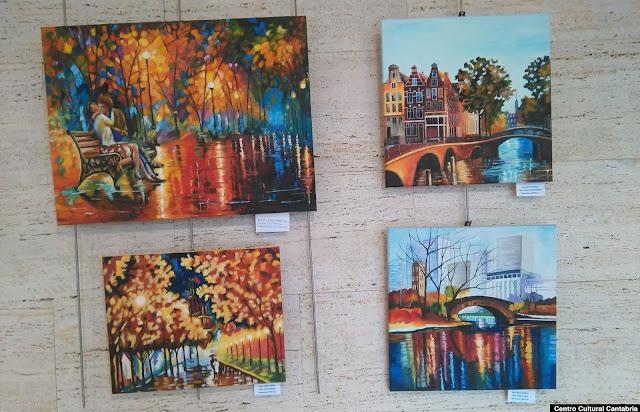 Exposición de pintura del centro cántabro
