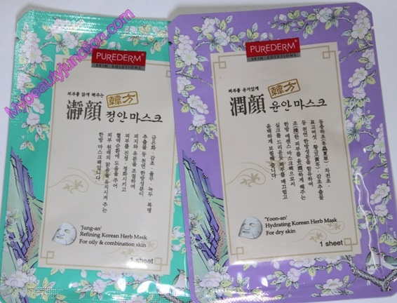 Memebox Oriental Medicine Beauty box review, unboxing, photos