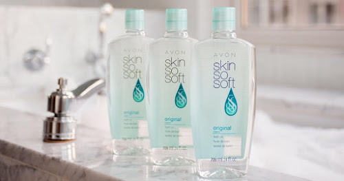 Avon Skin So Soft Bath Oil >>>