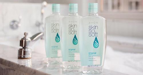 Avon Skin So Soft Bath Oil >>>