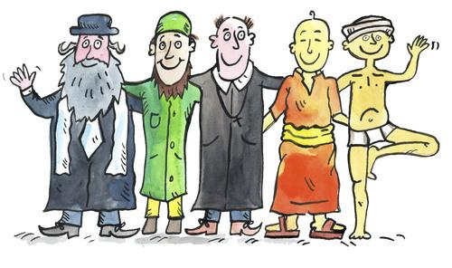 Perbedaan Antara Agama dan Spiritualitas