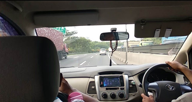 Kemacetan di jalan Tol Surabaya Gresik dan Sebaliknya