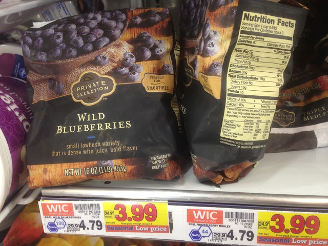 Wild Blueberries, 16 oz, Private Selection - Kroger