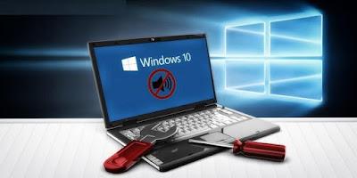 Cara Mengatasi Komputer Laptop Yang Tidak Keluar Suara