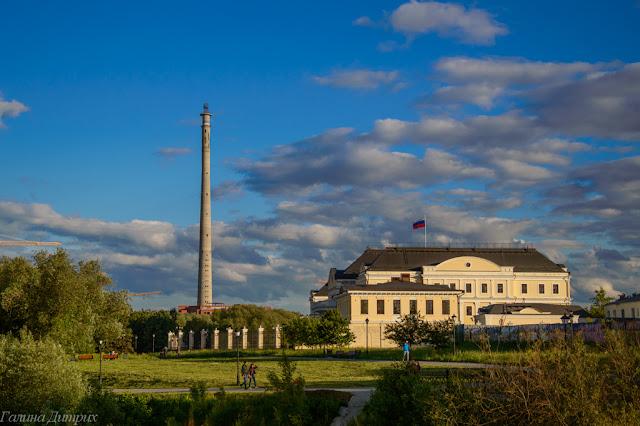 Телевизионная башня Екатеринбург фото