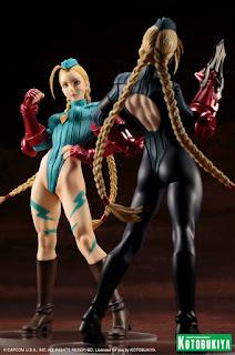 Bishoujo Decapre y Cammy 1/7 de Street Fighter - Kotobukiya
