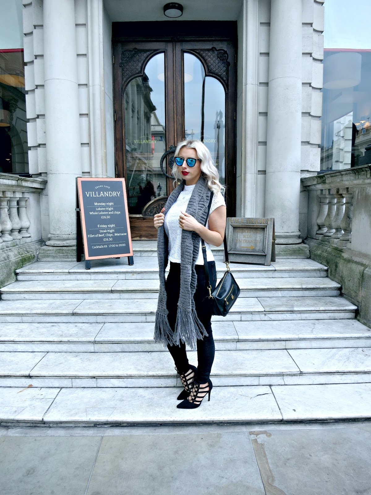 #OOTD champagne brunch, Villandry London