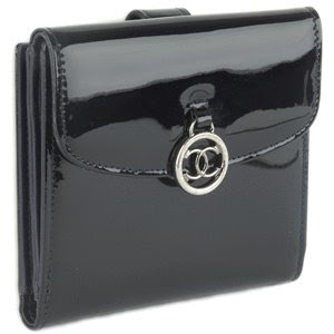 Black CHANEL CC Wallet no replicas