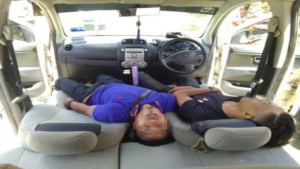Ingatkan tengah tidur, rupanya sudah mati dalam kereta