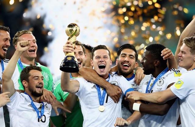 Cirúrgica, Alemanha bate o Chile e é campeã da Copa das Confederações
