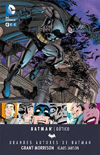 Grandes Autores de BATMAN - Grant Morrison. Gótico