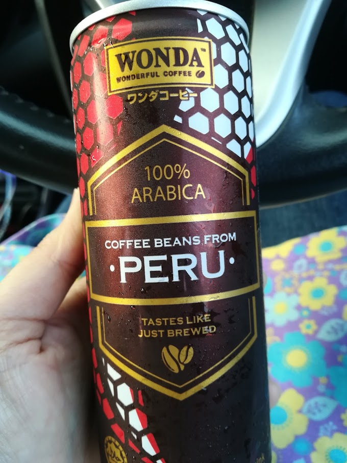 WW85 :: New Flavour WONDA Coffee