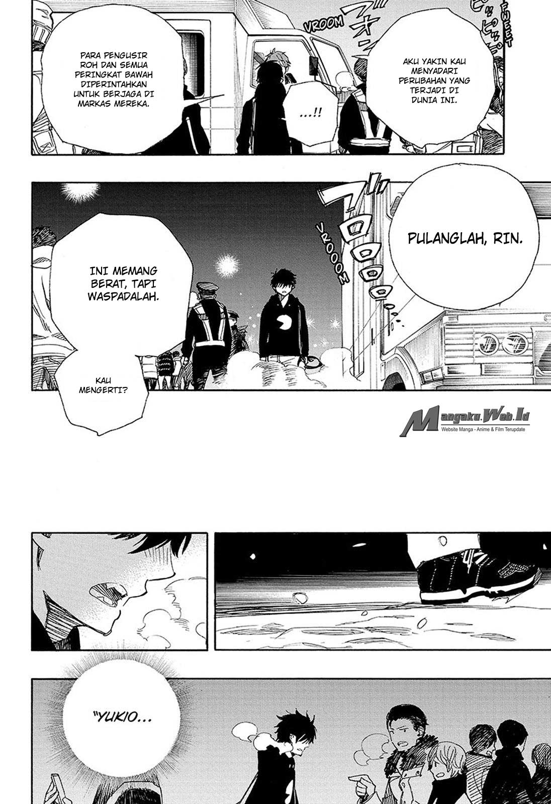Ao no Exorcist Chapter 95-21