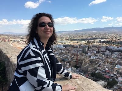Lorca vista desde la Fortaleza del Sol
