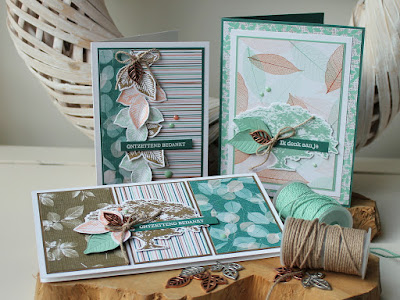 Nature's Poem suite Stampin'Up!