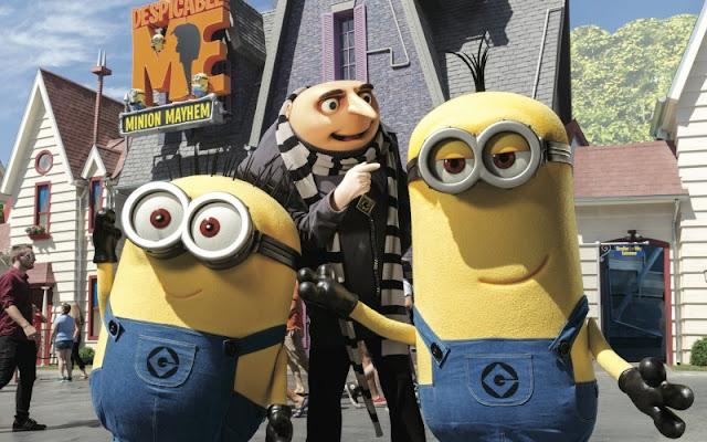Personagens no Universal Studios Hollywood