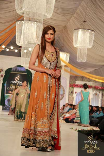 49f5d8fe2c The Latest Pakistani Fashions Designer Rani Emaan Has Presented her new  latest bridal wear Collections in Pantene Bridal Couture Week 2012 - 2013  in Lahore.