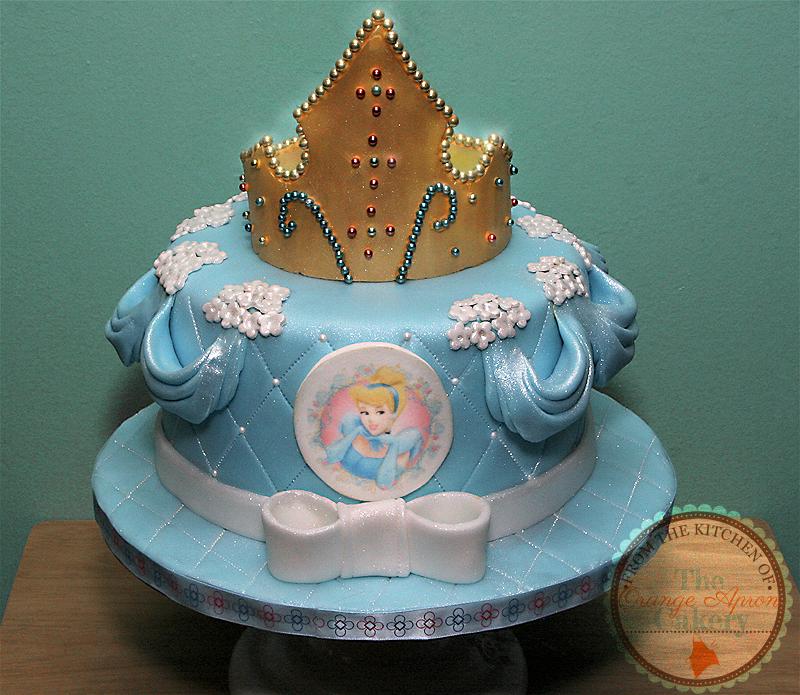 Happy Birthday Cinderella Cake