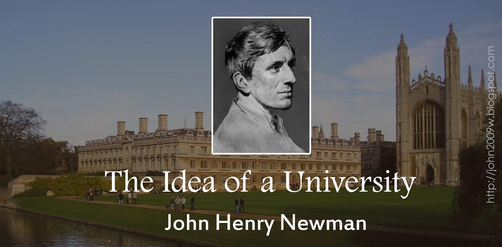 Newman's Idea of the University -Today - Seton Hall University