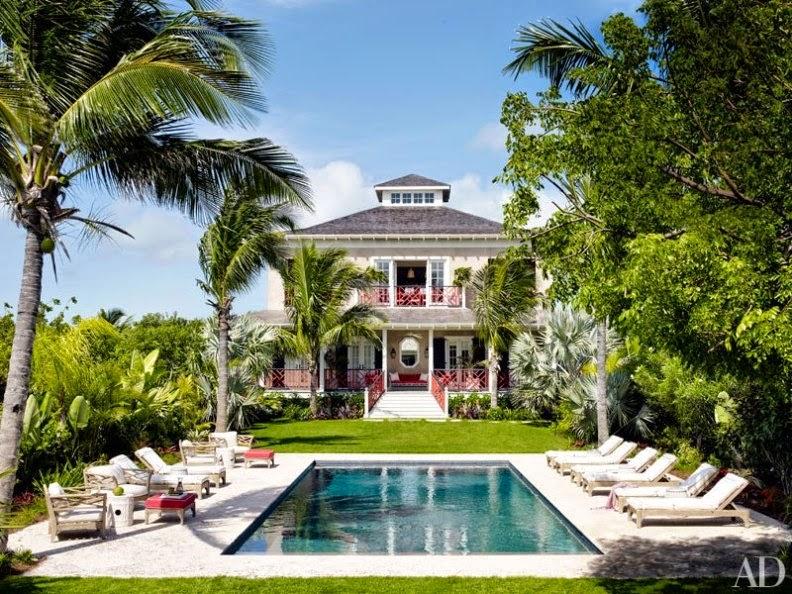 una casa en las Bahamas