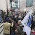 Sukob policije i demobilisanih boraca ispred Parlamenta FBiH
