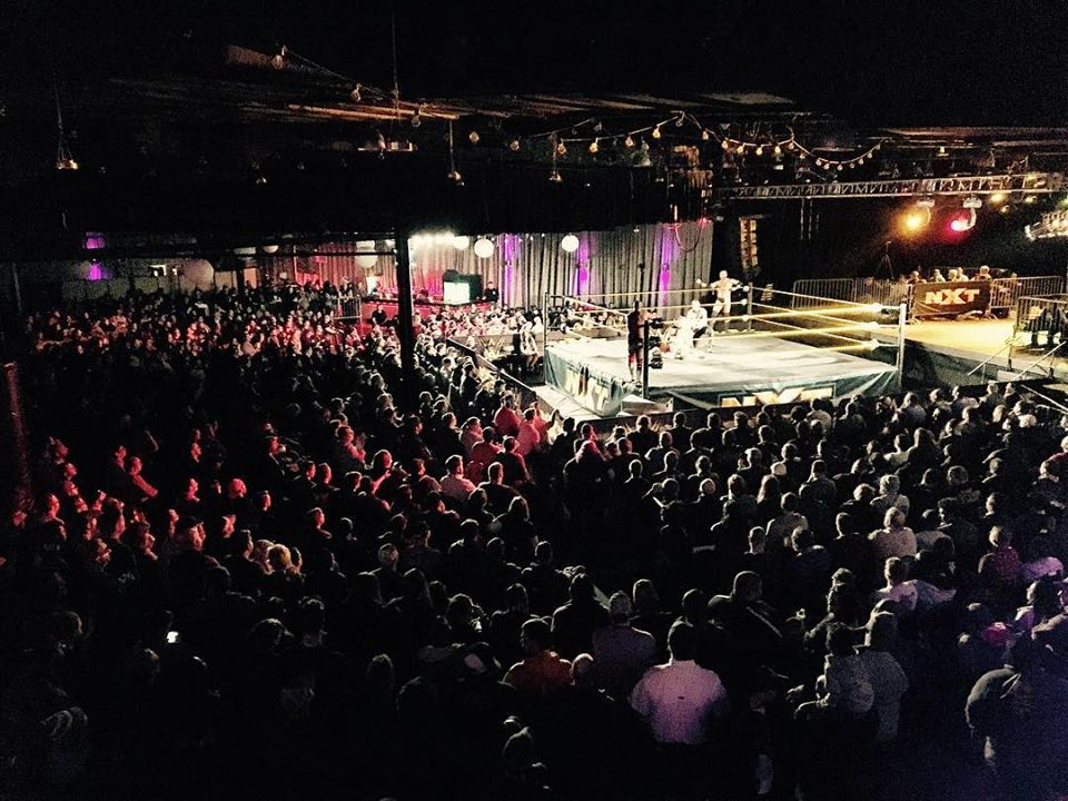 wrestling news center nxt live sold out results from memphis tn 2 4 16. Black Bedroom Furniture Sets. Home Design Ideas