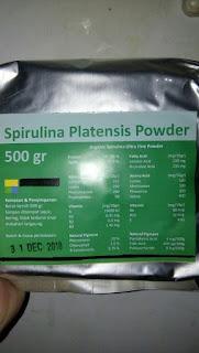 Grosir Masker Spirulina Curah FDA