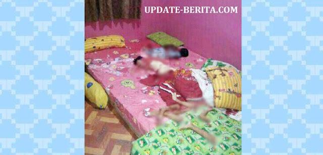 Kronologi Jelas Lengkap Oknum Polisi Membunuh dan Mutilasi 2 Anak Kandungnya Sadis
