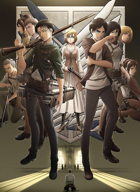 "tercera temporada de ""Ataque a los Titanes"" (Shingeki no Kyojin 進撃の巨人)."