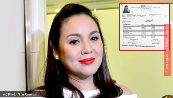 Claudine Barretto tests negative for illegal drugs
