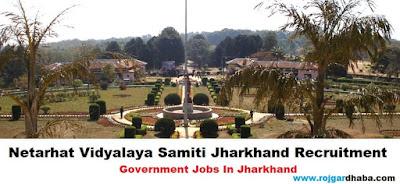 netarhat-vidyalaya-samiti-jobs