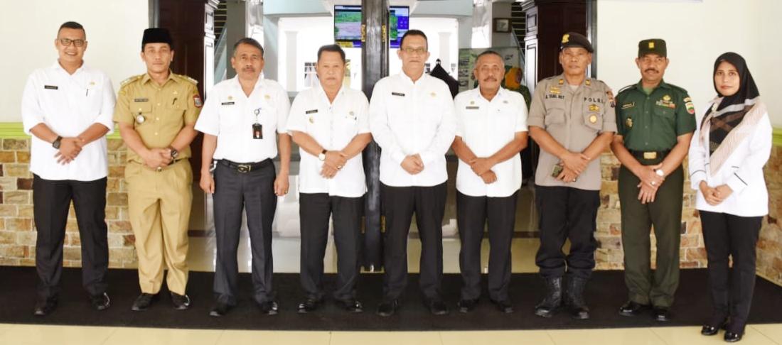KApolsek Datuk Bandar Ikuti Penilaian Penilai Kecamatan Terbaik Tingkat Provinsi Sumatera Utara Tahun 2018