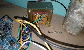 Power supply circuit power amplifier tda7386