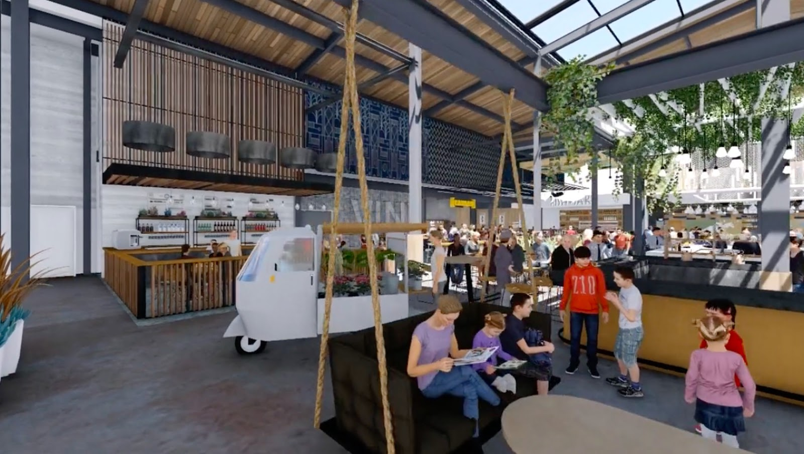 Sandiegoville Gigantic New Food Hall To Open In San Diegos North