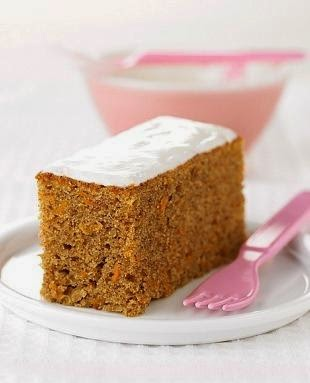 Torta de zanahoria licuada