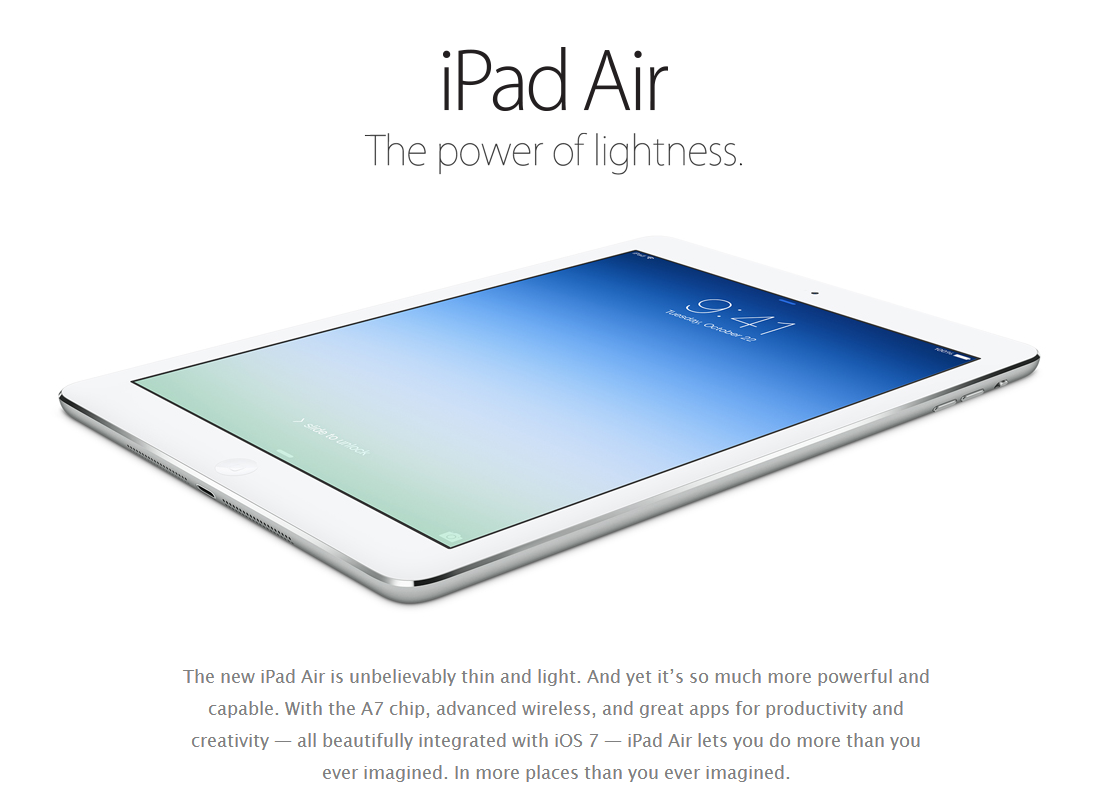 The Digital Electronics Blog Electronic Devices And Circuits Salivahanan Pdf Free Download Ipad Air Is Thinner Lighter With A Powerful Processor 97 Inch Retina Display Other Added Features Brings Some Design Performance