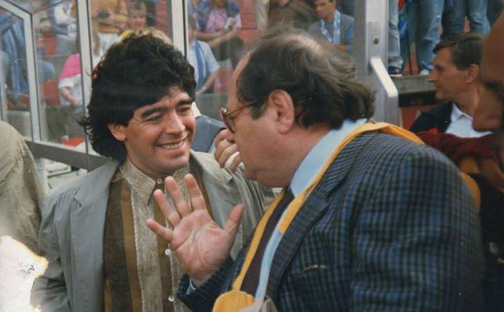 """Luigi Necco: """"San Gennaro perdona... Maradona no"""""""