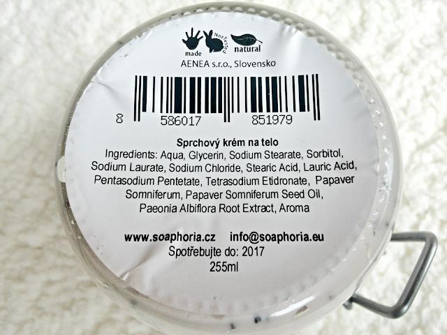Soaphoria sprchový krém Polní květiny