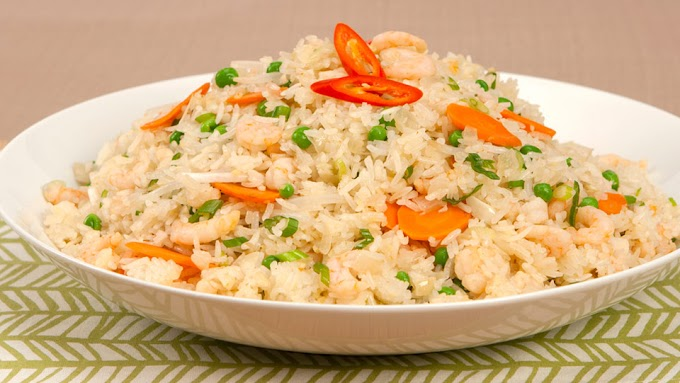 Shrimp Fried Rice | Shrimp Fried Rice Recipe
