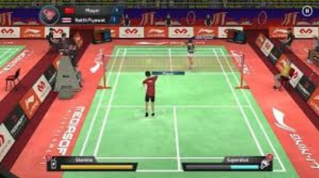Game Lining Jump Smash 15 Badminton Mod Apk + Data