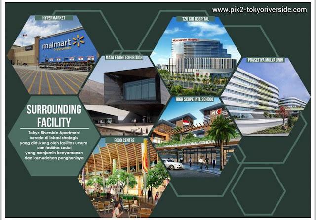 PIK 2 Apartment Tokyo Riverside External Facilities