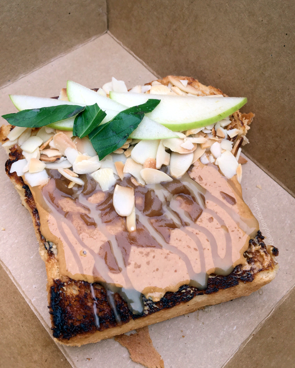 Almond Butter Toast - My Name is Joe Coffee Co - Austin, Texas - Tori's Pretty Things Blog