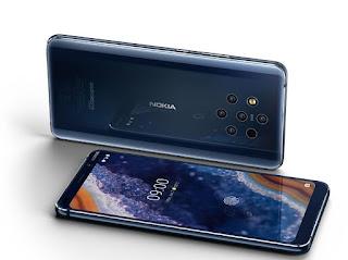 Nokia Memiliki Lima Kamera Utama pada Seri Nokia 9 PureView
