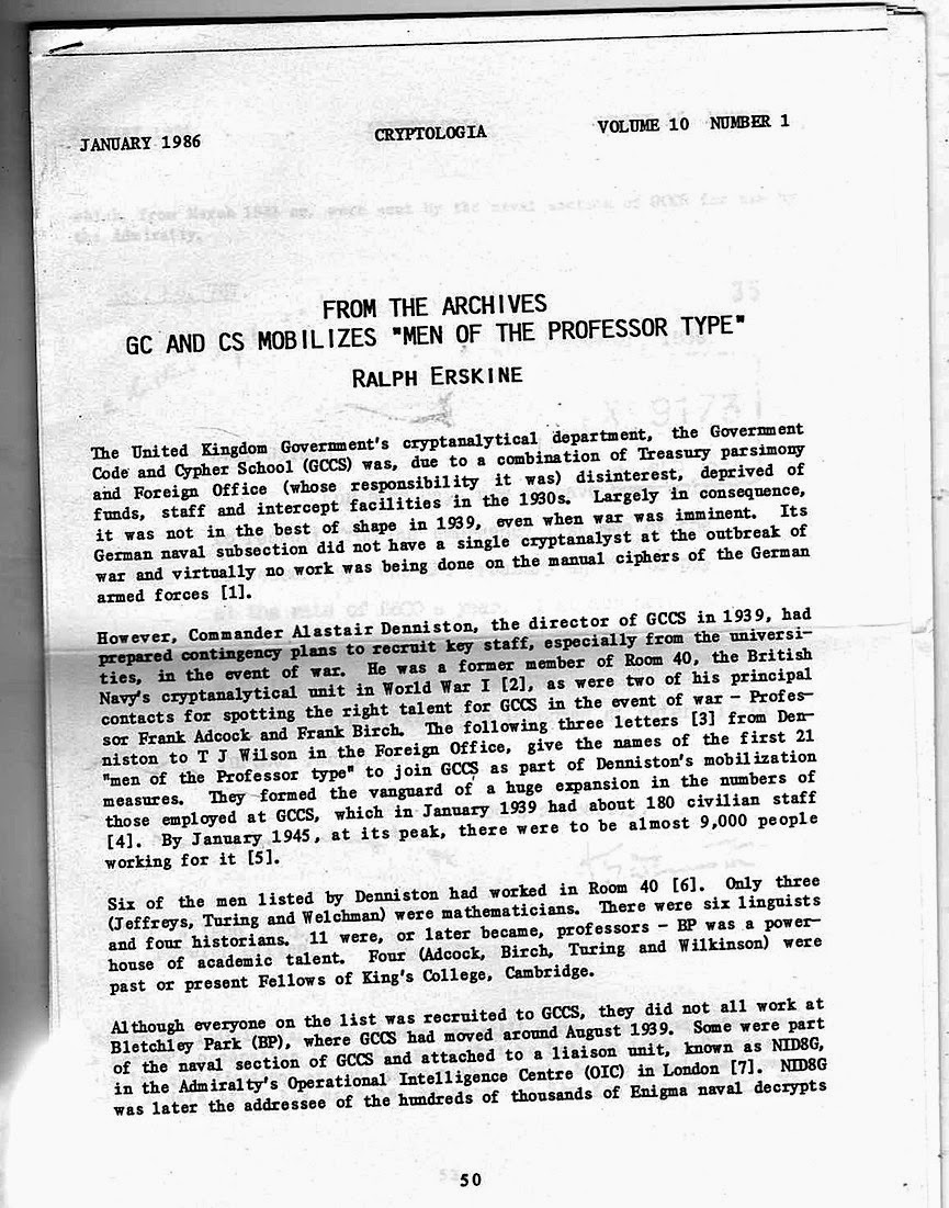 Jot101  Wartime codebreaking---the professorial connection 913cb624e7b8c