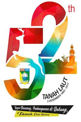 Logo Hari Jadi Tanah Laut ke 52, Keren, Kekinian, dan Modern