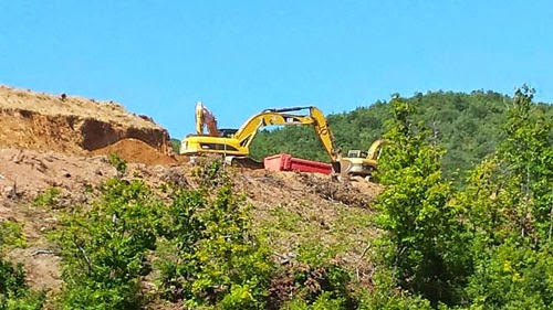 Highway Kichevo-Ohrid is being built intensively